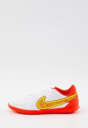 Бутсы зальные Nike JR LEGEND 9 CLUB IC. Цвет: белый