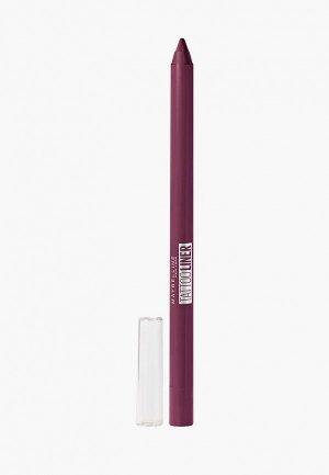 Карандаш для глаз Maybelline New York TATOO LINER интенсивный цвет, гелевый,  оттенок 942, ягодный, 1.3 г. Цвет: розовый