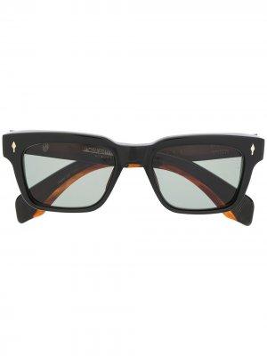 Солнцезащитные очки в квадратной оправе Jacque Marie Mage. Цвет: черный