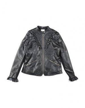 Куртка PINKO. Цвет: черный