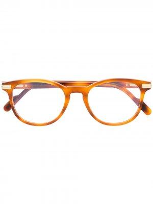 Очки C Décor Cartier Eyewear. Цвет: оранжевый