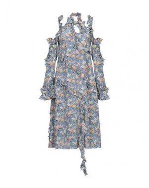 Платье до колена LIBERTY London. Цвет: лазурный