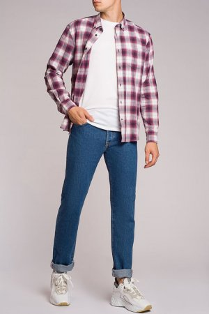Рубашка Acne. Цвет: фиолетовый