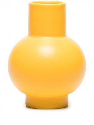 Маленькая ваза Strøm raawii. Цвет: желтый