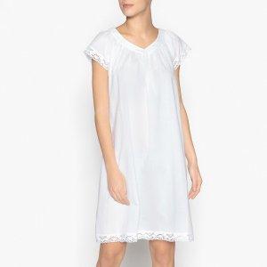Сорочка La Redoute. Цвет: белый