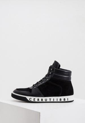 Кеды Cerruti 1881. Цвет: черный