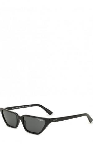 Солнцезащитные очки Vogue Eyewear. Цвет: чёрный