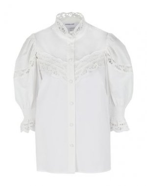 Pубашка DESIGNERS, REMIX. Цвет: белый