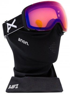 Горнолыжные очки N2 MFI Anon. Цвет: черный
