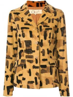 Куртка с принтом Romeo Gigli Pre-Owned. Цвет: нейтральные цвета