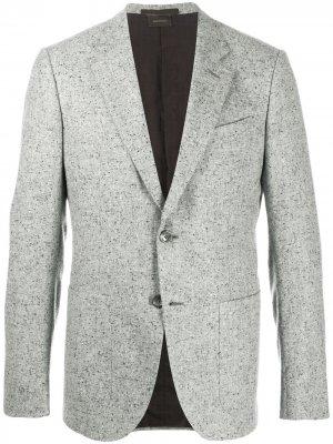 Кашемировый пиджак Ermenegildo Zegna. Цвет: серый