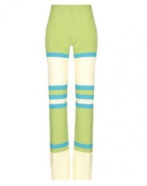 Повседневные брюки COMPAGNIA ITALIANA. Цвет: кислотно-зеленый