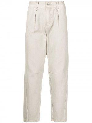 Зауженные джинсы SONGZIO. Цвет: нейтральные цвета