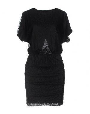 Короткое платье 8PM. Цвет: черный
