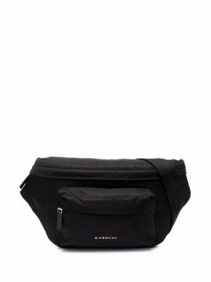 Поясная сумка Essentiel U Givenchy. Цвет: черный