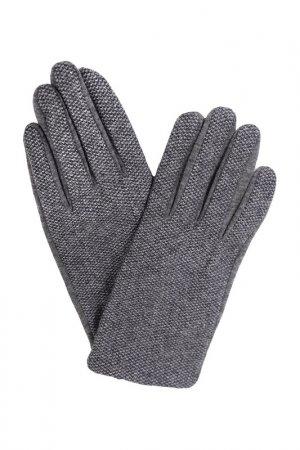 Перчатки JOHN TRIGGER. Цвет: серый