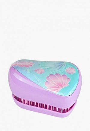 Расческа Tangle Teezer Compact Styler Seashells. Цвет: розовый