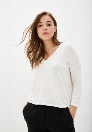 Пуловер Mango - PIKI. Цвет: белый