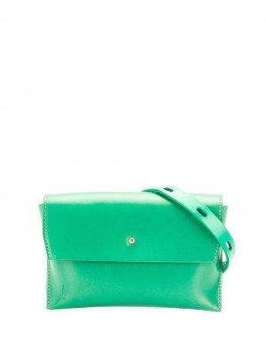 Поясная сумка Hild Ally Capellino. Цвет: зеленый