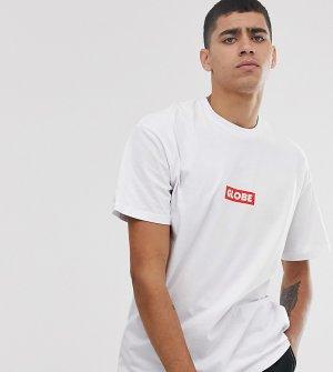 Белая футболка с логотипом -Белый Globe