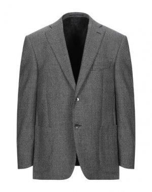 Пиджак SANREMO. Цвет: стальной серый