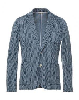Пиджак PAOLO PECORA. Цвет: пастельно-синий