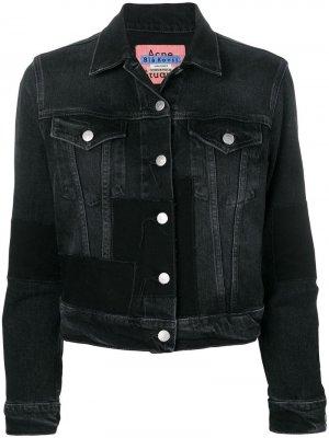 Джинсовая куртка 1999 Patch Acne Studios. Цвет: черный