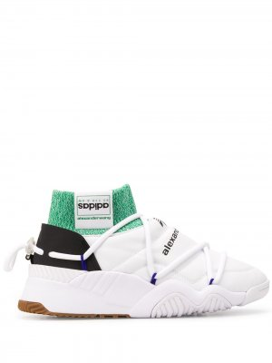 Кроссовки Puff adidas Originals by Alexander Wang. Цвет: белый
