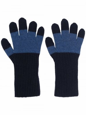 Colour block gloves Homme Plissé Issey Miyake. Цвет: синий