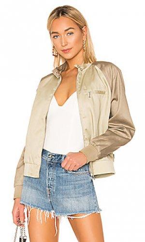 Куртка louise Stussy. Цвет: цвет загара