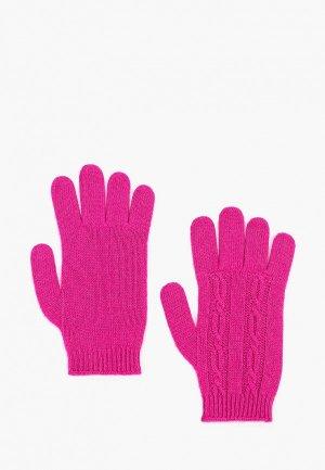 Перчатки United Colors of Benetton. Цвет: фиолетовый