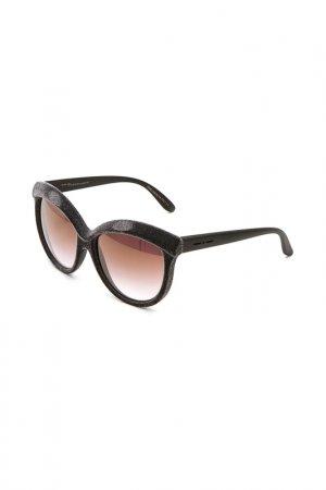 Очки солнцезащитные с линзами Italia Independent. Цвет: 071 cng серый, черный