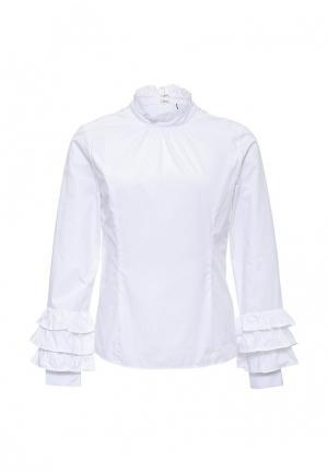Блуза LOST INK LO019EWLPM63. Цвет: белый