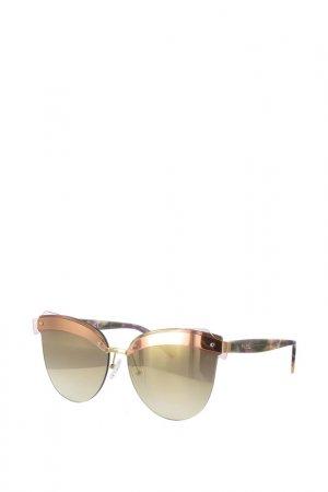 Очки солнцезащитные Byblos. Цвет: золотой