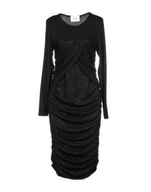 Платье до колена JUST FEMALE. Цвет: черный