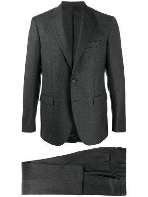 Костюм с однобортным пиджаком LANVIN. Цвет: серый