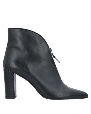 Полусапоги и высокие ботинки ALBERTO ZAGO. Цвет: черный