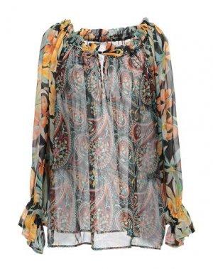 Блузка FEMME by MICHELE ROSSI. Цвет: черный
