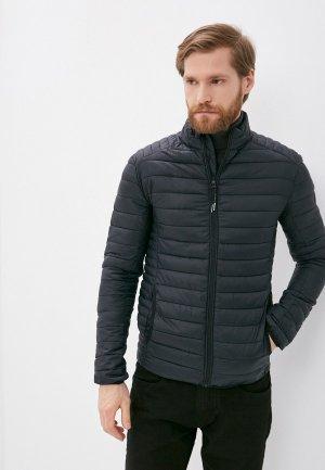Куртка утепленная Indicode Jeans Adamo. Цвет: черный
