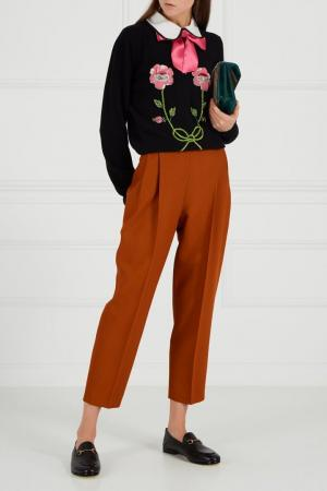 Сумка с нашивками Dionysus Gucci. Цвет: multicolor