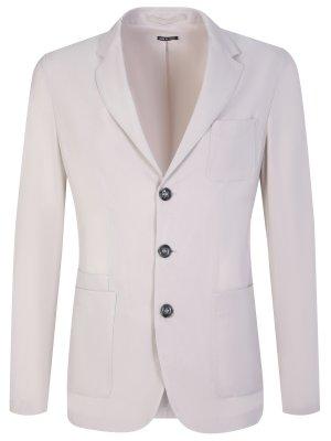 Пиджак с накладными карманами GIORGIO ARMANI