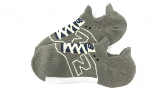 Носки Sneaker Fit No Show 1 Pair New Balance. Цвет: серый