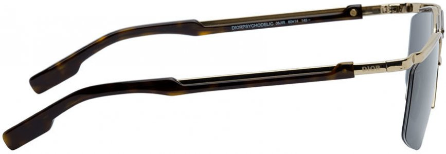 Gold Navigator Psychodelic Sunglasses Dior Homme. Цвет: 06j gold havana