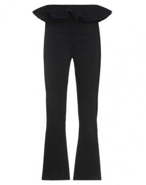Джинсовые брюки DENNY ROSE. Цвет: черный