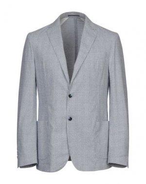 Пиджак RODA. Цвет: лазурный