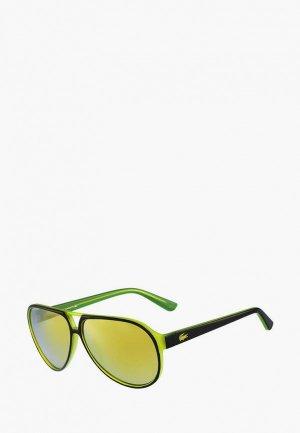 Очки солнцезащитные Lacoste 714S. Цвет: желтый