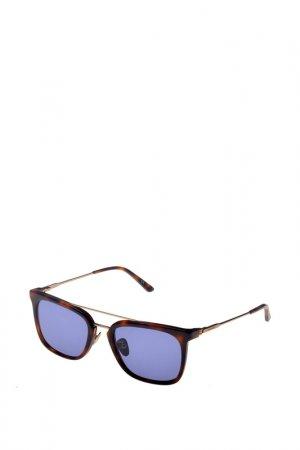 Солнцезащитные очки CK. Цвет: коричневый