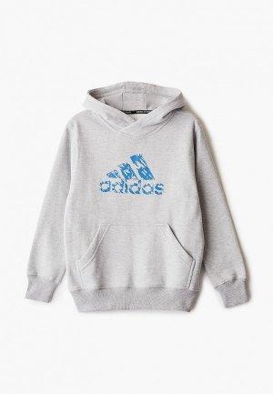 Худи adidas Combat Graphic Hoody Kids. Цвет: серый