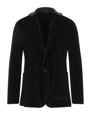 Пиджак PAOLO PECORA. Цвет: темно-зеленый