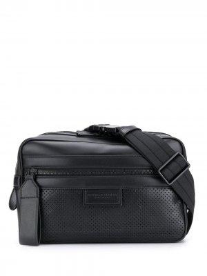 Поясная сумка Leggero Bottega Veneta. Цвет: черный